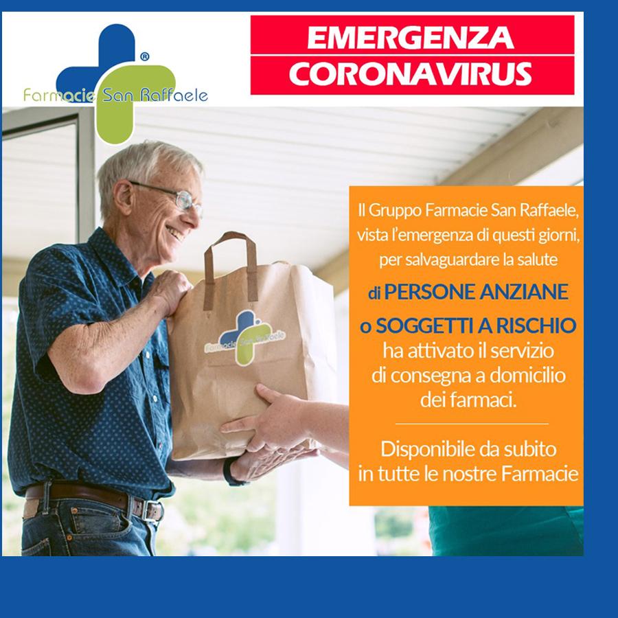 Consegna gratuita farmaci a domicilio